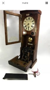 National Time Recorder Clock